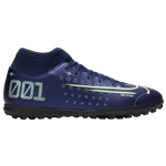 Nike Mercurial Superfly 7 Club MDS TF - Mens / Blue Void/Metallic Silver/White   Dream Speed