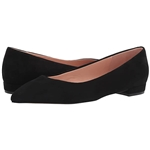 J.Crew Pointy Toe Flat in Suede