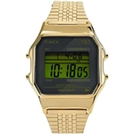 Timex 34 mm T80 Stainless Steel Case Digital Dial
