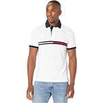 Tommy Hilfiger Adaptive Tanner Polo Shirt with Magnetic Buttons Custom Fit