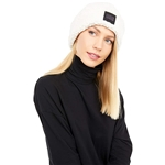 UGG Sherpa Cuff Beanie with Logo Patch