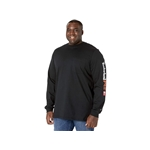 Timberland PRO FR Cotton Core Long Sleeve Pocket T-Shirt with Sleeve Logo - Tall