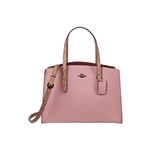COACH Coated Canvas Signature Blocking Charlie Carryall