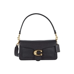 COACH Polished Pebble Leather Tabby Shoulder Bag 26