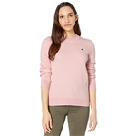 Lacoste Long Sleeve Crew Neck Solid Color Sweater