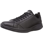 MBT Mens Ren Synthetic Leather Black Trainers 9 US