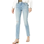 Hudson Jeans Collin High-Rise Skinny in Destructed Moving On