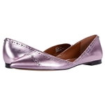 COACH Valintina Pointed Toe Flat with Studs