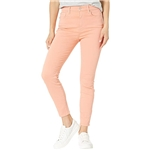 7 For All Mankind High-Waist Ankle Skinny in Rose