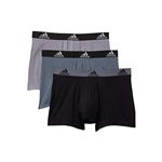 Adidas Stretch Cotton Trunk 3-Pack