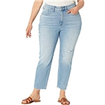 Madewell Plus Size Curvy Perfect Vintage Jeans in Coffey Wash