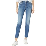 Hudson Jeans Nico Mid-Rise Super Skinny Ankle in Leisure