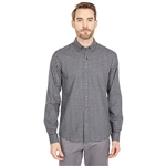Michael Kors Long Sleeve Button-Down Windowpane Shirt