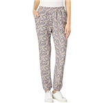 Saltwater Luxe Robin French Terry Floral Slim Joggers