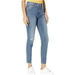 Hudson Jeans Barbara High-Rise Super Skinny Ankle Jeans in Victorious