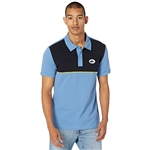 Lacoste Short Sleeve Color-Blocked on Chest with Badge on Left Chest