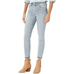 Blank NYC The Bond Mid-Rise Star Embroidered Denim Skinny Jeans in Ever After