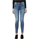 Hudson Jeans Barbara High-Waist Super Skinny Ankle in Hold Tight