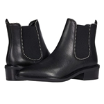 COACH Bowery Leather Bootie