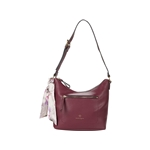 Nanette Lepore Perry Double Zip Hobo with Scarf