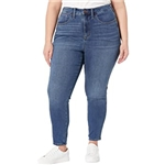 Madewell Plus High-Rise Roadtripper Supersoft Jeans in Playford Wash