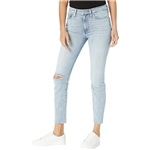 Hudson Jeans Barbara High-Rise Super Skinny Crop Jeans in Baby Face