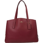 COACH Polished Pebble Leather Charlie 40 with Laptop Compartment