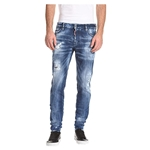 DSQUARED2 Slim Medium Country Wash Jeans in Blue