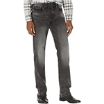 True Religion Ricky Straight Flap Big T in Grey Mineral