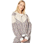 Saltwater Luxe Karly French Terry Floral Zip-Up Hoodie