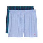 Psycho Bunny 2-Pack Cotton Woven Boxers