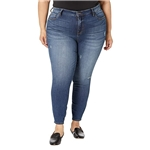 KUT from the Kloth Plus Size Donna High-Rise Ankle Skinny in Cumulated