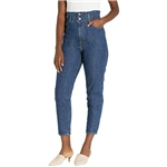 Levis Womens High-Waisted Paperbag