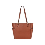Nanette Lepore Clio Solid Tote with Printed Baguette
