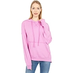 Michael Stars Zion High-Low Hoodie in Hermosa French Terry