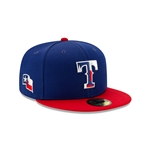 Newera TEXAS RANGERS 2021 SPRING TRAINING 59FIFTY FITTED