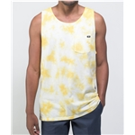 Vans Washed Up Yellow Tie Dye Tank Top
