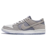 NIKE Mens SB Zoom Dunk Low Pro, Wolf Grey/Summit White-Clear, 5 M US