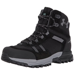 Under Armour Womens Post Canyon Mid Waterproof, Black/Black/Graphite, 8 B(M) US