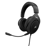 Corsair CORSAIR HS50 - Stereo Gaming Headset - Discord Certified Headphones - Works with PC, Mac, Xbox One, PS4, Nintendo Switch, iOS and Android  Carbon