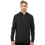 Michael Kors Mens Bind Hoodie With 1/2 Zip