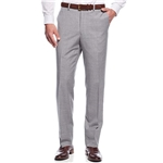 Michael Kors Light Gray Textured Flat Front 100% Wool New Mens Dress Pants (42W)