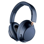 Plantronics BackBeat GO 810 Wireless Headphones, Active Noise Canceling Over Ear Headphones, Navy Blue