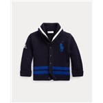 Polo Ralph Lauren Cotton Shawl-Collar Cardigan