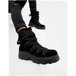 Asos ASOS DESIGN Adaptive chunky suede aproes ski boots