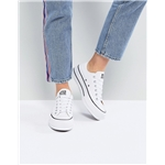 Asos Converse Chuck Taylor All Star Platform Ox Sneakers In White