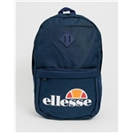 Asos ellesse Duel backpack with logo in navy
