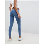Asos Freddy WR.UP Shaping Effect Mid Rise Push Up Skinny Jean