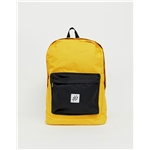 Asos Jack & Jones backpack in color block with branded logo