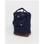 Asos Jack & Jones smart backpack with handle in navy